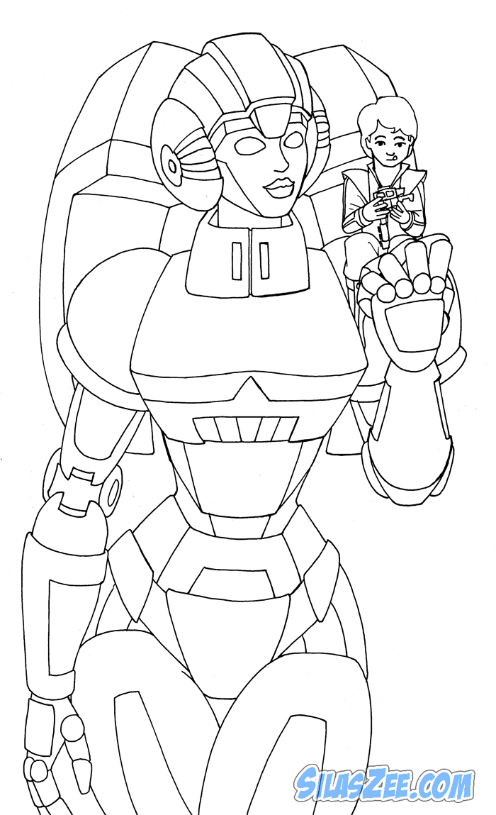 arcee transformers prime coloring pages - photo#19