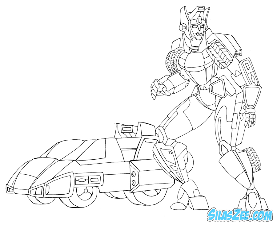 arcee transformers prime coloring pages - photo#25