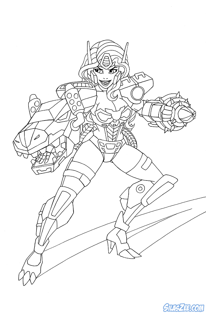 Rescue bots coloring pages free printable coloring pages for Rescue bots heatwave coloring page